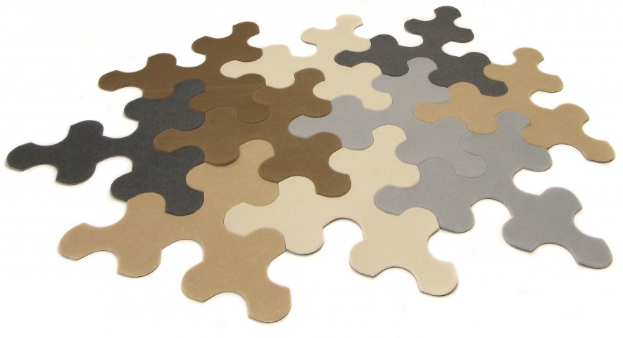 Puzzle rug Imperial, Contra Forma
