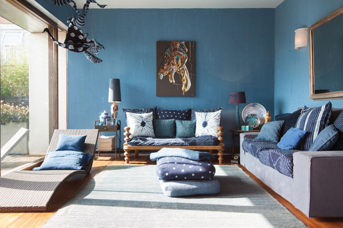 Colour of the month: Blue