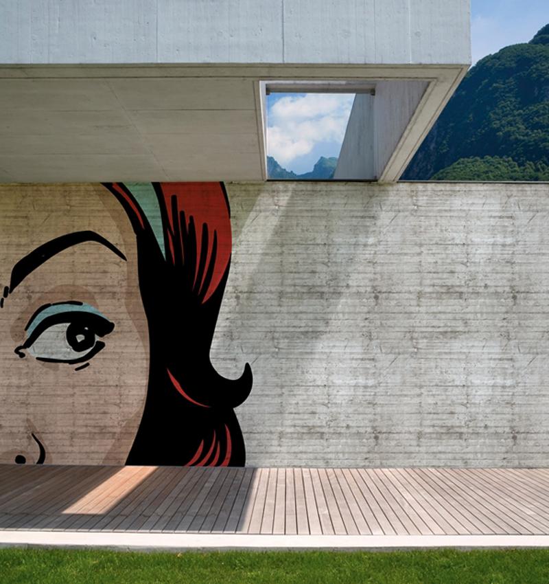 Outdoors wall decor, Wall&Deco